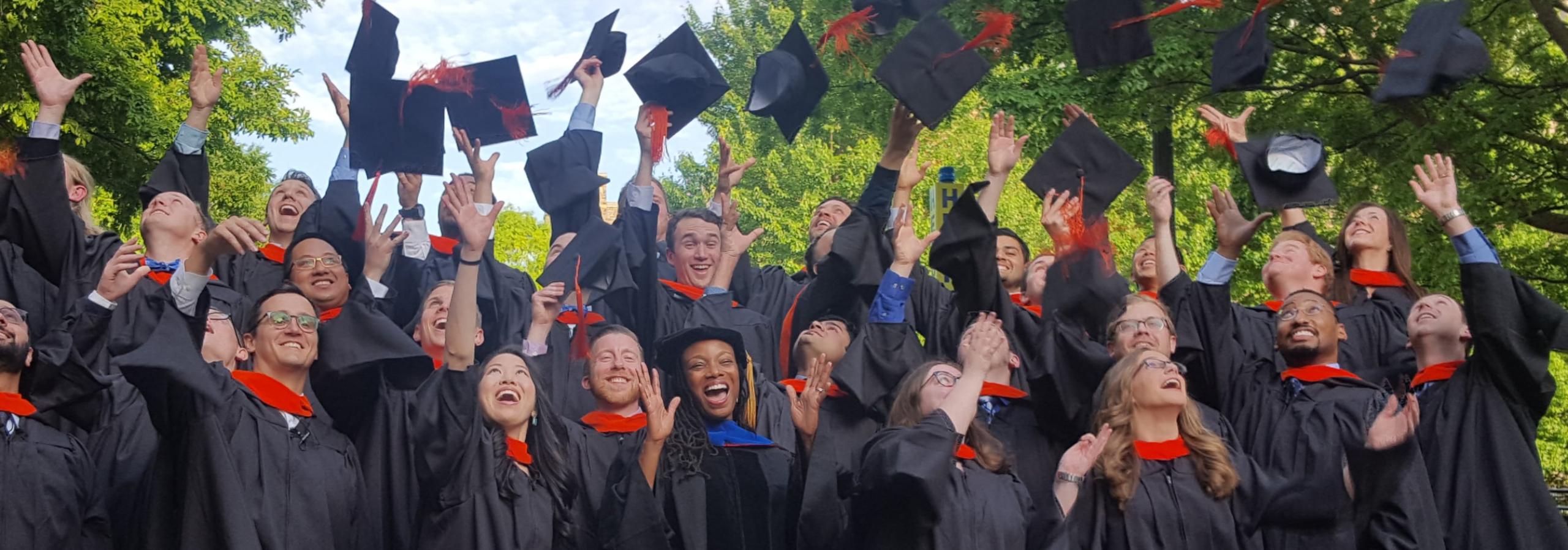 Duke Master of Engineering Management graduates celebrate