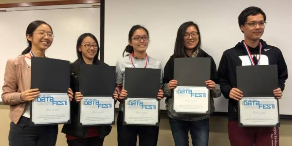 DataFest award winners