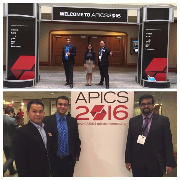 students at APICS 2016